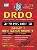Defence Research & Development Organisation CEPTAM DRDO ENTRY TEST Technician A Senior Technical Assistant B Exam Books