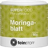 Feinstoff Bio Moringa Pulver, 1er Pack (1 x 90 g)