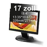 Xianan 17 Zoll Standardbildschirm 5:4 Displayfilter 13.35 * 10.67zoll/339 * 271mm Blickschutzfilter Blickschutzfolie Blickschutz Sichtschutz