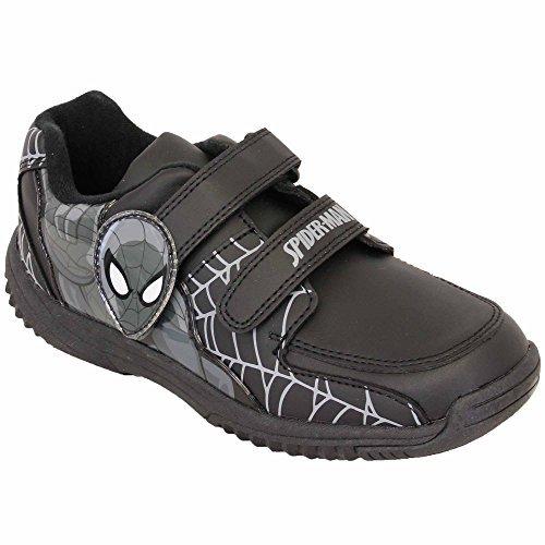 Baskets Garçon Enfants Spiderman Minions MARVEL Méprisable Chaussures d'école jeunesse sport