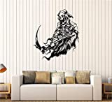 autocollant mural Grim Reaper Art Horror Death Squelette