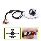 Evtevision 1080P/2.0MP Überwachungskameras CCTV IR Dome Kameras AHD/TVI/CVI/CVBS 4 in 1 Metallgehäuse mit Audio Pickup/OSD Menü/IR Cut, 33ft/10M Nachtsicht 3.6mm Linse Weitwinkelansicht