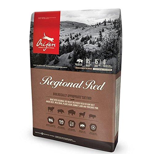 Orijen Regional Red Cat Whole Prey Probepackung - 340 g -