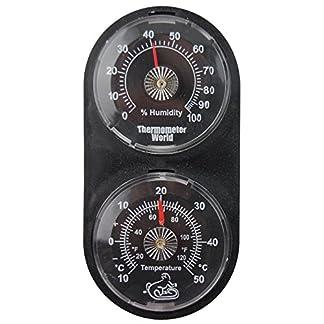 Vivarium Thermometer Hygrometer – Monitor Temperature and Humidity in Reptile Tank Vivarium 51By3g 2BOl7L