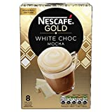 NESCAFÉ Gold White Chocolate Mocha Coffee 8 Sachets (Pack...