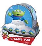 Toy Story 3 Alien Shaped 6 Game Tub