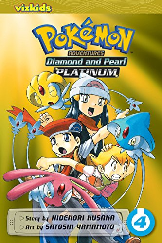 Pokemon Diamond and Pearl Platinum. Volume 4