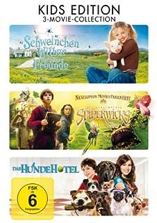 Schweinchen Wilbur und seine Freunde / Die Geheimnisse der Spiderwicks / Das Hundehotel [Kids Edition] [3 DVDs]