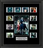 HARRY POTTER AND THE DEATHLY HALLOWS FRAMED FILM CELL MEMORABILIA