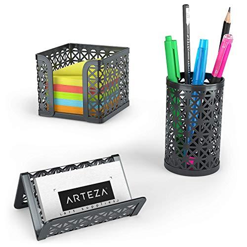 Nero cosanter 1/pezzi portapenne Office Ufficio di matite Box Organizer