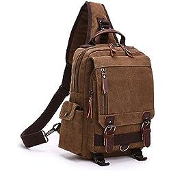 ff9706c8f49 Minetom Lona Backpack Mochilas Escolares Mochila Escolar Casual Bolsa Viaje  Moda Bolso De Bandolera Sencillo Unisex