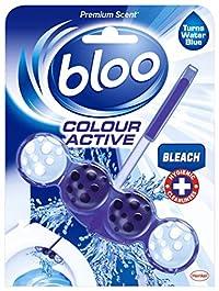 Bloo Blue Active Toilet Rim Block, 50 G, Bleach