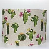Cactus - Lámpara de techo (30 cm de diámetro x 20 cm de alto)