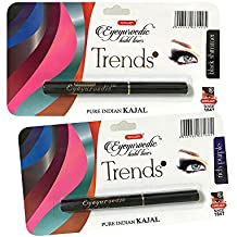 K-Veda Eyeyurvedic Kohl Liner Trendz Black Shimmer And Rich Purple