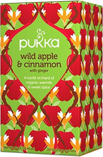 Pukka Herbs Bio Wildapfel & Zimt Teemischung, 40 g