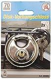 Kraftmann Disk Vorhängeschloss, 70 mm, 85806