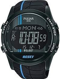 Pulsar Herren-Armbanduhr WRC Digital Quarz verschiedene Materialien PV4007X1