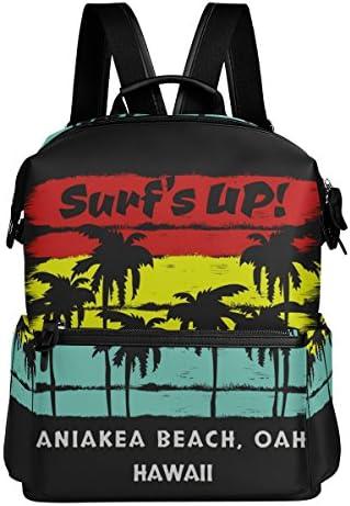 Surf' Surf' Surf' S Up leggero in poliestere impermeabile di grande capienza zaino Campus zaino Zaino da viaggio | Aspetto estetico  | Outlet Store  | Elevata Sicurezza  ae90d8