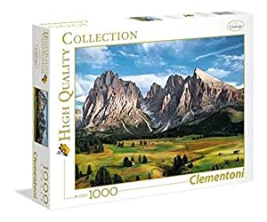 Clementoni 39414 Puzzle Puzzle - Rompecabezas (Puzzle Rompecabezas, Paisaje, Niños y Adultos, The Coronation of Alps, Niño/niña, 14 año(s))