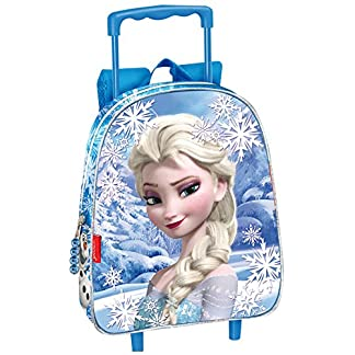Mochila Trolley Carro Frozen Disney Heart Elsa 28x24x10 cm
