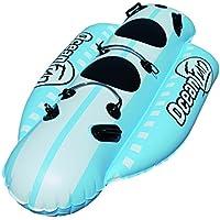 Ocean Fun Racer 2Personas 260365ppba nane schlepp Anillo Plátano Boot schleppre Autoadhesivo Tube Bob