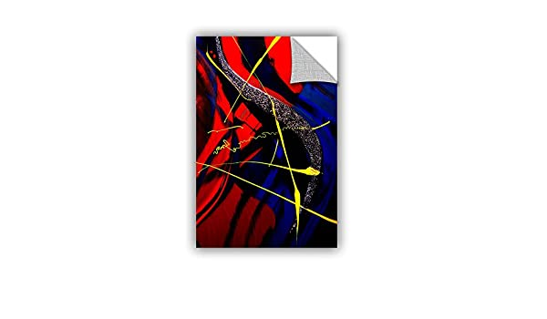 12 x 18 ArtWall Byron Mays The Abstract Musical Note Art Appeelz Removable Graphic Wall Art
