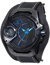 DETOMASO Herren-Armbanduhr Steppenwolf Analog Quarz DT-YG104-B