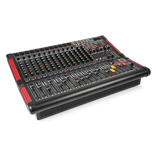 Power Dynamics PDA-S1604A 16-Kanal-Mixer mit integriertem Verstärker (2x350 RMS)