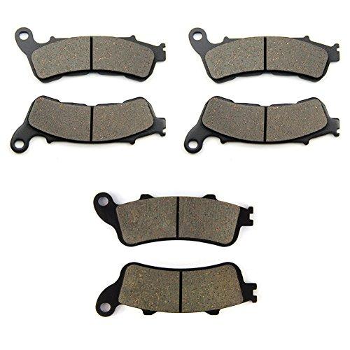 SOMMET Pastiglie freno Anteriori + Posteriore per Honda XL 1000 V Varadero (Non ABS) (07-11) / XL 1000 VA Varadero (ABS) (04-11)