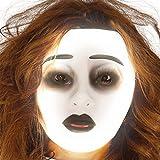 Guirca Fiestas GUI2794 - durchsichtige Fluoreszierende Frauen-Maske