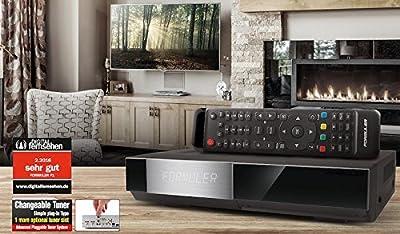 formuler F1E2HD Triple 1.3GHz Full HD Linux HbbTV Receptor, 2x DVB-S2