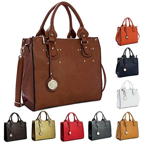 Big Handbag Shop, Borsa a mano donna One Spring Green (HR269)