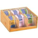 Kesper 50903 Teebox mit 6 Fächern