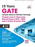 #2: 19 years GATE Computer Science & Information Technology Chapter-wise & Topic-wise Solved Papers (2018 - 2000) with 4 Online Practice Sets