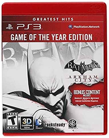 Batman: Arkham City - Game of the Year (PS3)