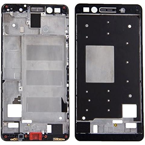 Piezas de repuesto para teléfonos móviles, iPartsBuy frontal de la carcasa del LCD de la placa del bisel del capítulo para Huawei Honor 7 ( Color : Negro )