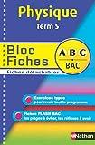 BLOC FICHES ABC PHYSIQUE TER S