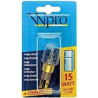 Whirlpool 41-PS-02 Wpro T-Click Fridge Lamp Bulb, 15 Watt
