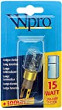 Whirlpool 41-PS-02 Wpro T-Click Fridge Lamp Bulb, 15 - Best Reviews Guide