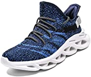 PAMRAY Mens Running Shoes Womens Tennis Sport Athletic Jogging Walking Sneakers Gym Fitness Outdoor Air Cushio