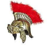 WIDMANN WDM03612 - Costume Per Adulti Elmo Romano Anticato, D'oro, Taglia Unica
