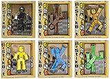 Toy Shed Spielzeug Schuppen stikbot Figur (6Stück, Farben können variieren)
