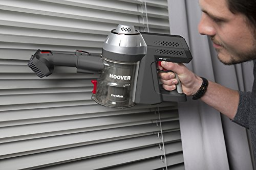 51ByOMnYPEL - Hoover Freedom 3in1 Cordless Stick Vacuum Cleaner, FD22G, Handheld, Above Floor, Lightweight, Wall Mount, Tools - Silver/Grey