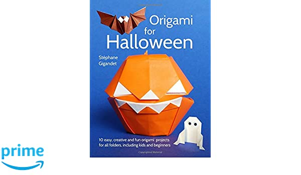 Halloween Origami for Kids - Easy Peasy and Fun | 350x600