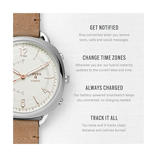 Fossil Hybrid Smartwatch Q Accomplice Sand Leather FTW1201