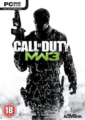 [UK-Import]Call Of Duty 8 Modern Warfare 3 Game PC