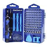 YINSAN Mini Schraubendreher Set, 119 in 1 Feinmechaniker Set, Werkzeug set, Präzisionsschraubendreher Set für iPhone, Laptop, Tablet, Uhren, Kamera, usw