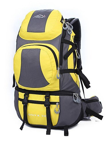 GXS Professional Outdoor Sport Reiten Camping wasserabweisend Multifunktions Schultern Bergsteigen Taschen Gelb - gelb
