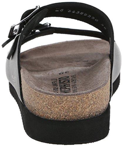 Mephisto Womens 2800 Harmony Leather Sandals Noir