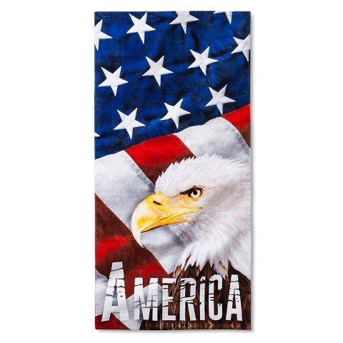 American Eagle Strandtuch-bunten (American True Eagle)